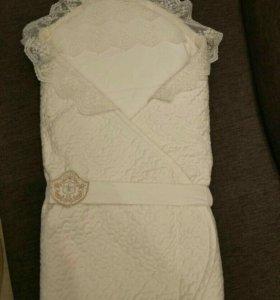 Конверт - одеяло lappetti на выписку