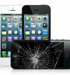 Замена экранов на iPhone