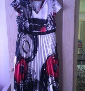Платье женское шелковое , новое!