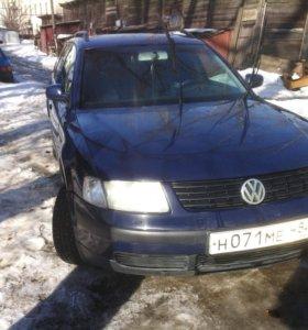 Volkswagen Passat 1.6 МТ,1999,универсал.
