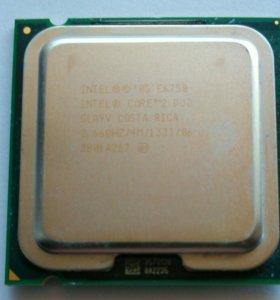 Процессор intel core duo e6750