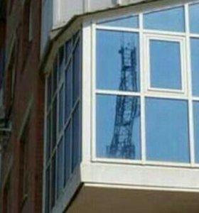 Тонировка балконов.