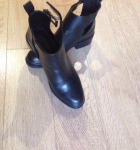 Полу ботинки осенние