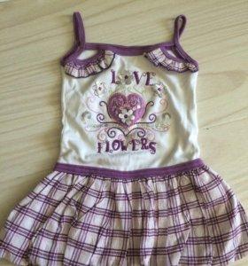 Платье- туничка на 1,5-2 года