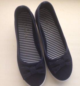 Туфли,на не большой платформе