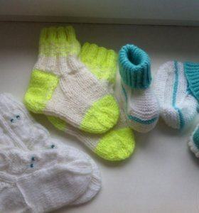 Пинетки и детские носочки