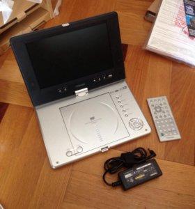 Портативный проигрыватель DVD Toshiba SD-P2700