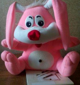 Розовый заяц.