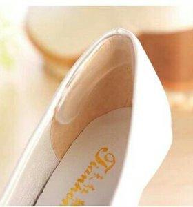 Стельки для задней стенки обуви из силикона