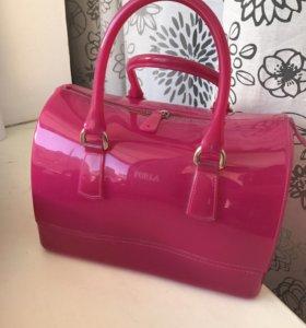 Сумка Furla Candy bag. Розовая.оригинал