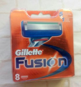 Лезвия Gillette Fusion POWER 8