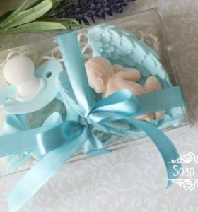 Набор мыла на рождение малыша