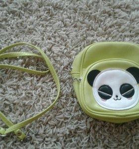 Детская сумочка с ремешком (Кож-зам)