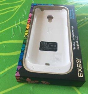 Чехол-аккумулятор samsung galaxy s4 mini, iphone,