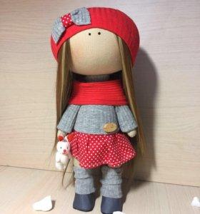 Интерьерная кукла Тильда ручная работа