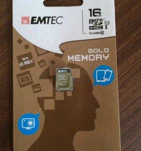 Флешка micro SD 16gb