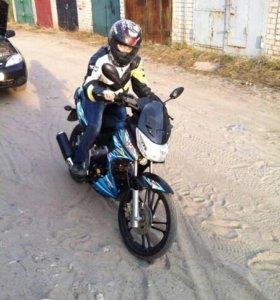 Мотоцикл storm indigo
