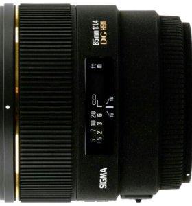 Sigma AF 85 mm f/1.4 EX DG HSM Canon EF