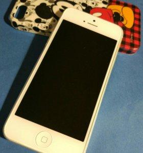 Телефон ipone 5 16gb