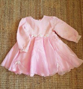 Платье р-р 86-92