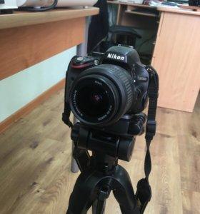Продаётся фотоаппарат Nikon D5100
