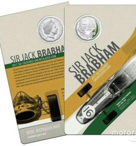 Монета Джек Брэбем (Формула 1)
