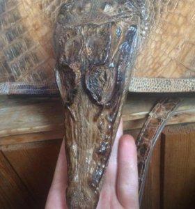 Сумка женская из кожи крокодила