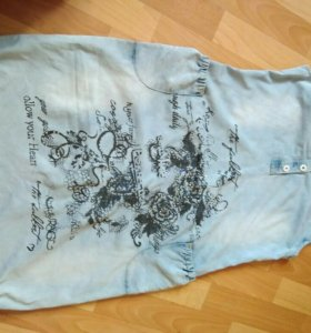 Платье /сарафан под джинсу