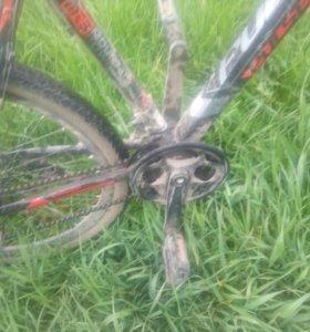 Велосипед скоростной с дисковыми тормазами