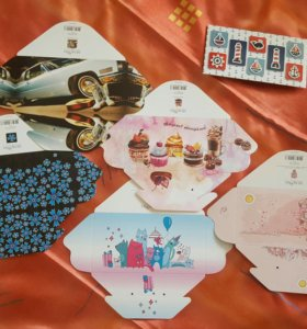 📨НОВЫЕ Открытки-конверты для денег