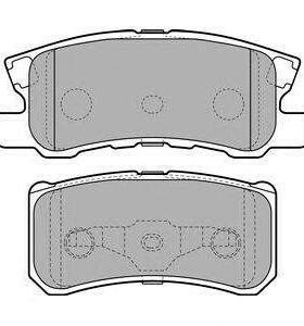 колодки тормозные задние asx mazda 6