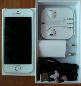 Айфон 5s,золотой