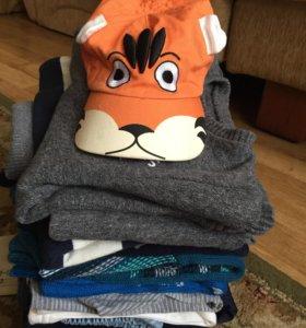 Продам пакет одежды для мальчика 2-3 года