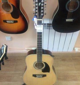12 струнная гитара Ibanez PF1512