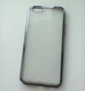 Чехлы-бамперы для айфон 6s + защитные стёкла