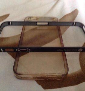 Бампер на iPhone 5/5s алюминиевый