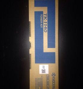 Картридж тонер KyoceraTk-1140 (Новый,запечатанный)