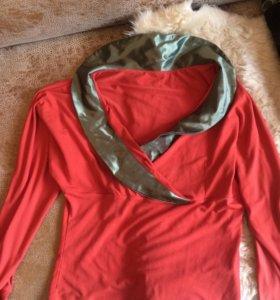 Блузка-кофточка