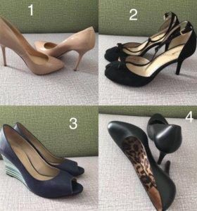 Туфли новые из натуральной кожи