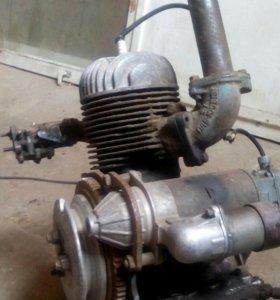 Пусковой двигатель на трактор т 40