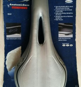 Седло BBB saddle AnatomicBase silver perforated co