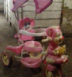 Детский велосипед каталка