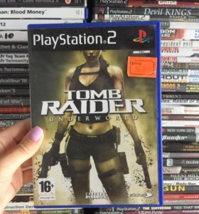 Игра Том Райдер на PlayStation 2