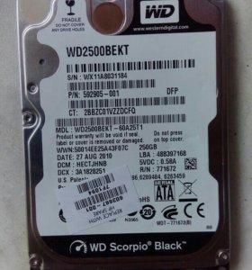 Жесткий диск для ноутбука Western Digital Scorpio