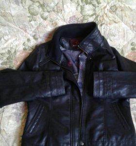 Куртка кож. зам. новая