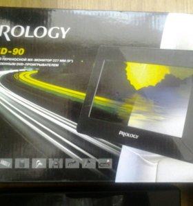 Prology amd-90 dvd проигрыватель переносной