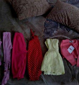 Пакет вещей для девочки на 1 год