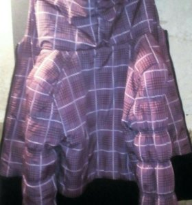 Куртка на девочку 7-10лет