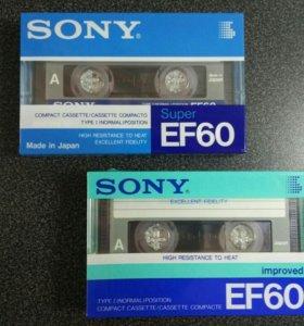 Касета Sony EF60 Super и Improved