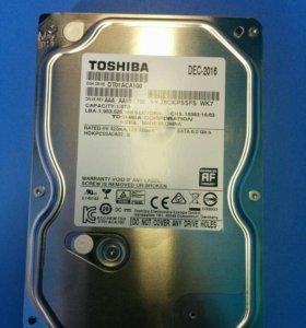"""3,5"""" 1000Gb Toshiba DT01ACA100"""